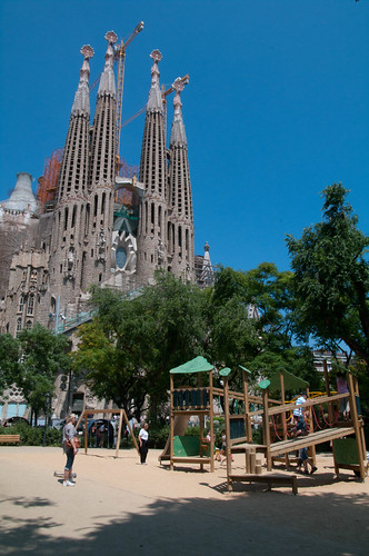 The playground at Sagrada Familia | by coffeehistorian