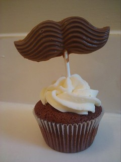 Yum! Mustache cupcake | by Jamey Bird