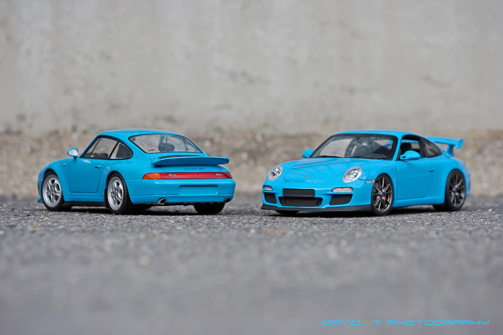 Riviera Blue Madness Porsche 911 997 Gt3 09 Feat Por