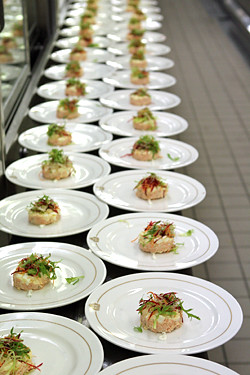 plating up food | by David Lebovitz
