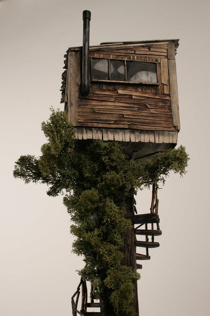 Miniature Tree House model treehouse miniature | aaron harvey | flickr