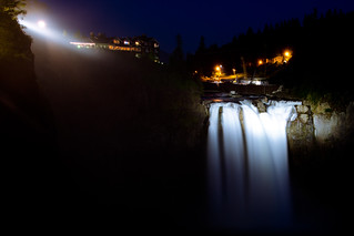 Snoqualmie Falls at Night | by hinzo