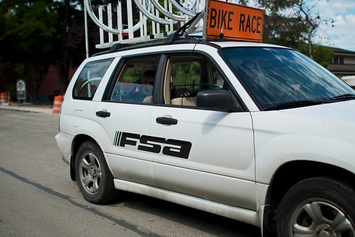 Keller Rohrback Road Race: FSA Support Car | by Hugger Industries