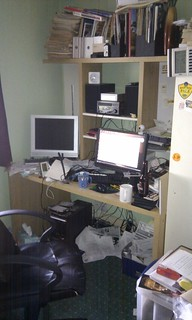 The full horror of my untidy desk | by nilexuk