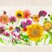 Garden Flowers - Center Panel