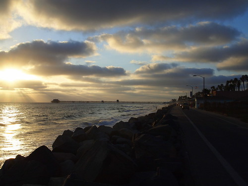 Variation 4:  Wisconsin Street Beach Sunset, Oceanside CA | by JoeInSouthernCA
