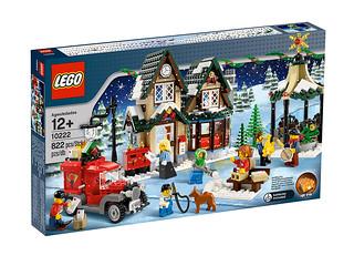 10222 winter village post office 1 complete details on t flickr - Lego construction maison ...