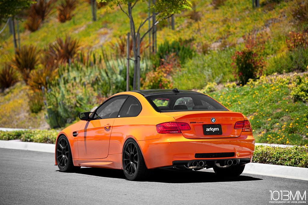 Arkym Fire Orange BMW M3 | 1013mm.com/blog/2011/08/arkym ...
