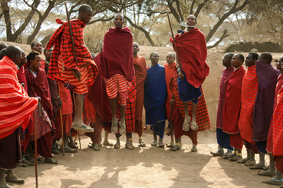 Jumping With The Maasai- Rift Valley Province, Kenya - Michael W ...