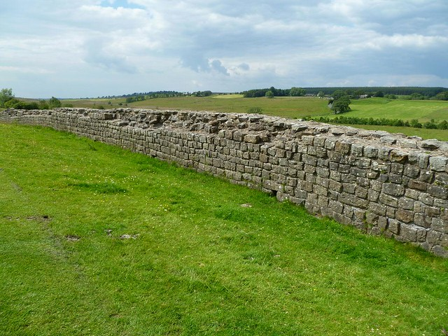 Curtain wall east of Birdoswald