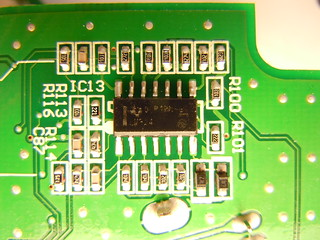 Monotribe main board bottom side (closeup) | by nitro2k01 (Gameboy Genius)