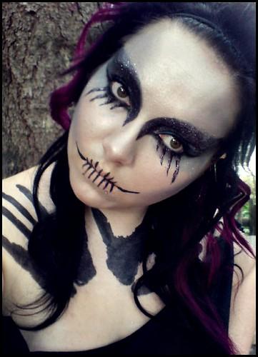 Gallery For &gt Dark Halloween Makeup - Dark Halloween Makeup