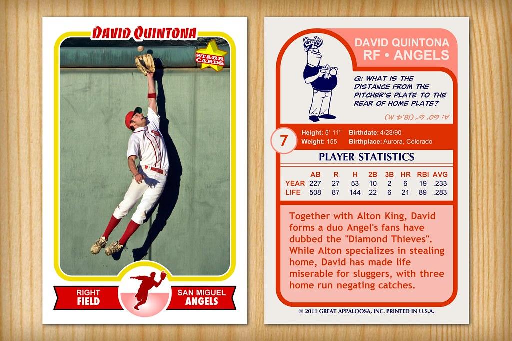 Retro 75 Custom Baseball Card | Custom baseball card created… | Flickr