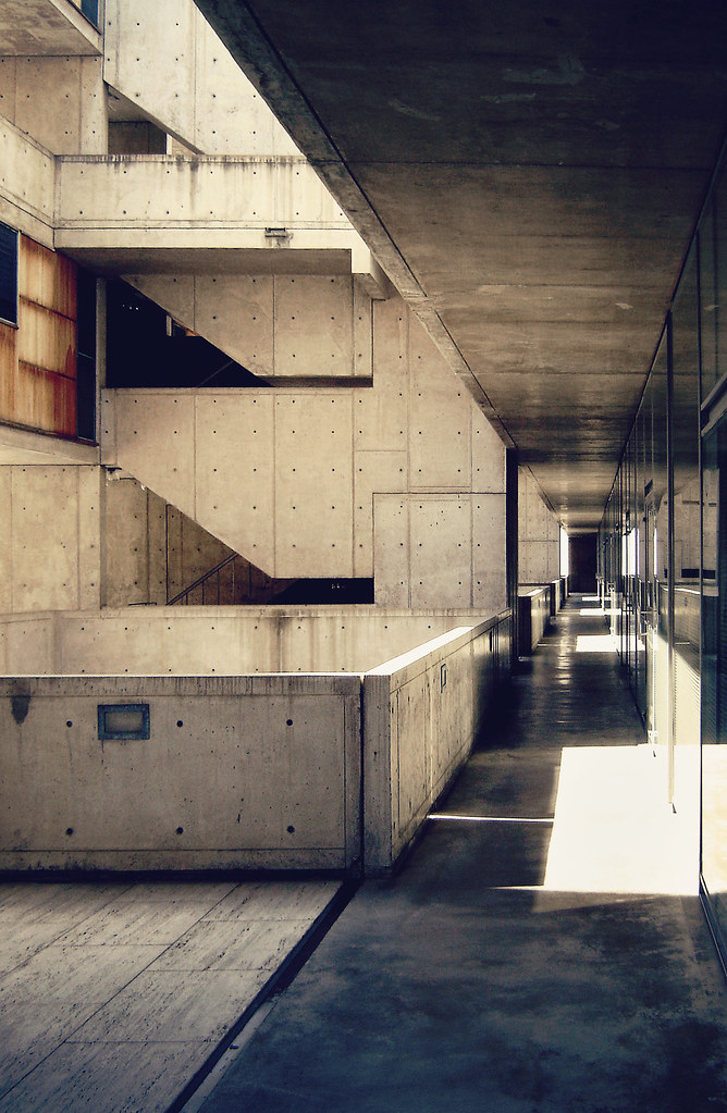 Salk institute for biological studies by louis kahn flickr for Louis i khan