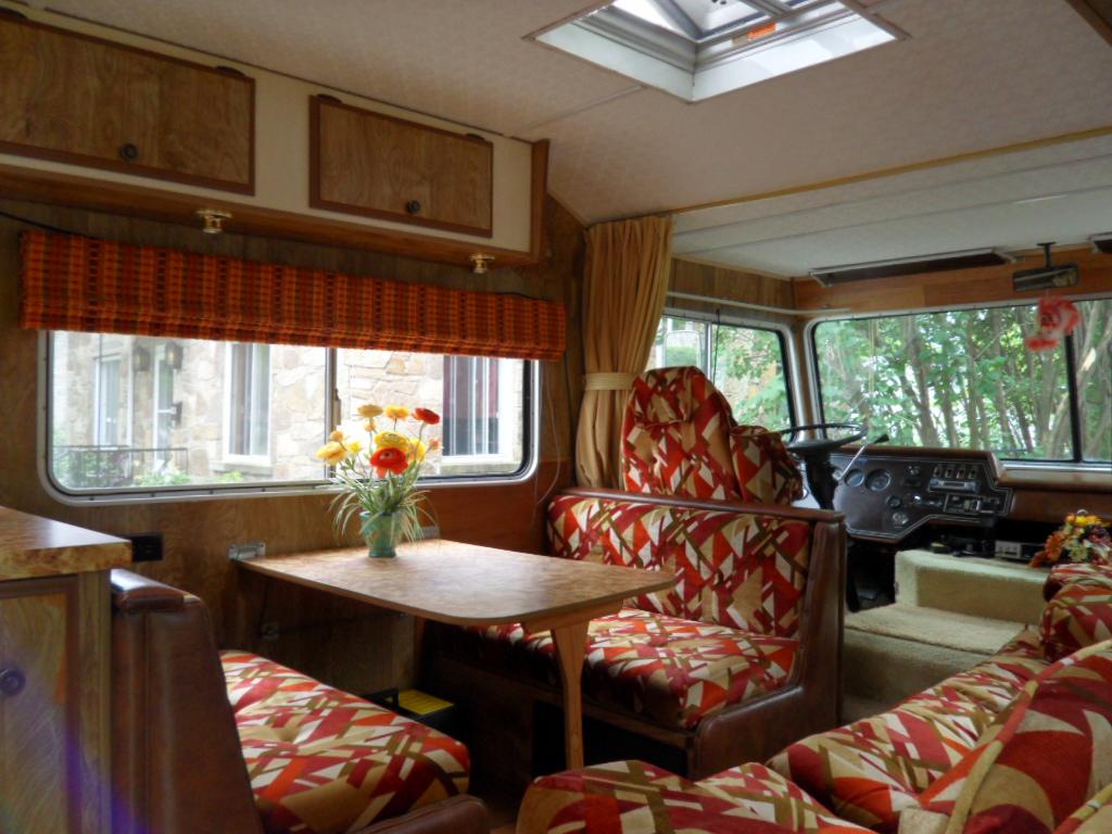 ... Vintage Motorhome Interior Dinette | By Opensky83