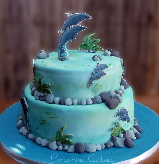 Quot Dolphins Quot 21st Birthday Cake Flickr Photo Sharing