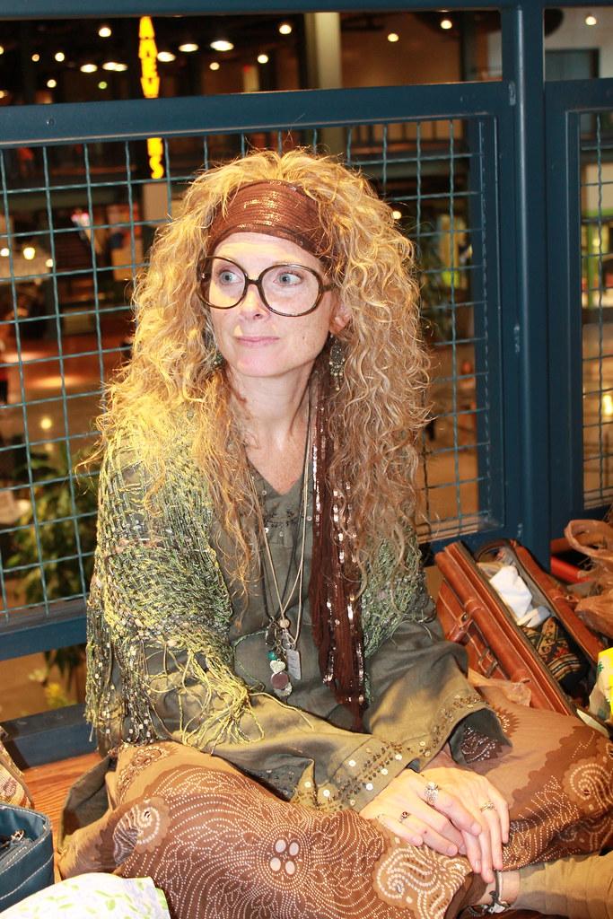 harry potter premiere professor trelawney costume flickr
