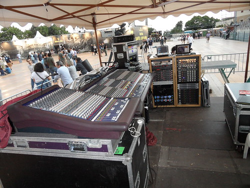 Umbria Jazz 11 - FOH facilities for PRINCE concert | by Reference Laboratory