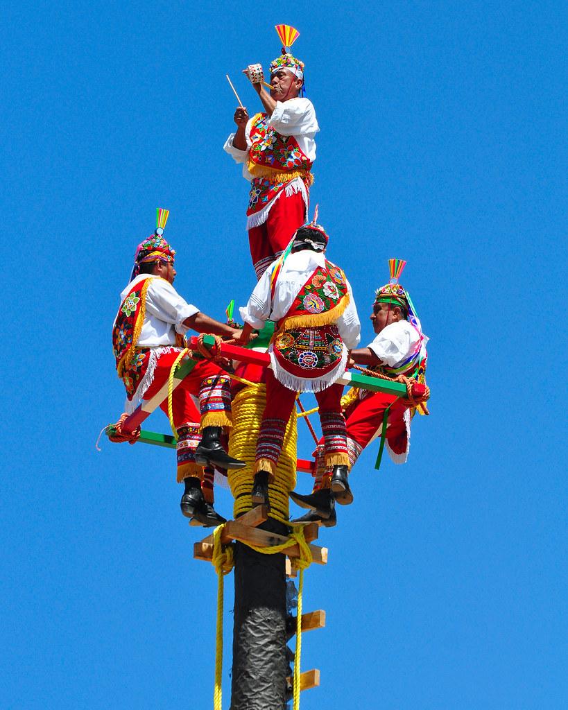 voladores de papantla el rancho de las golondrinas flickr
