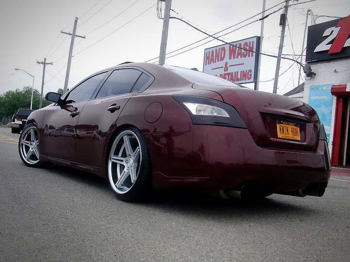 2010 Nissan Maxima Slammed On Concept One Executive Cs 5 0