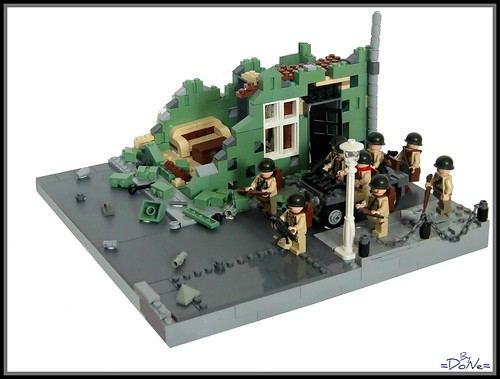 Lego ww2 Cherbourge -Module- | by =DoNe=