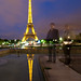 Eiffel Tower Reflection