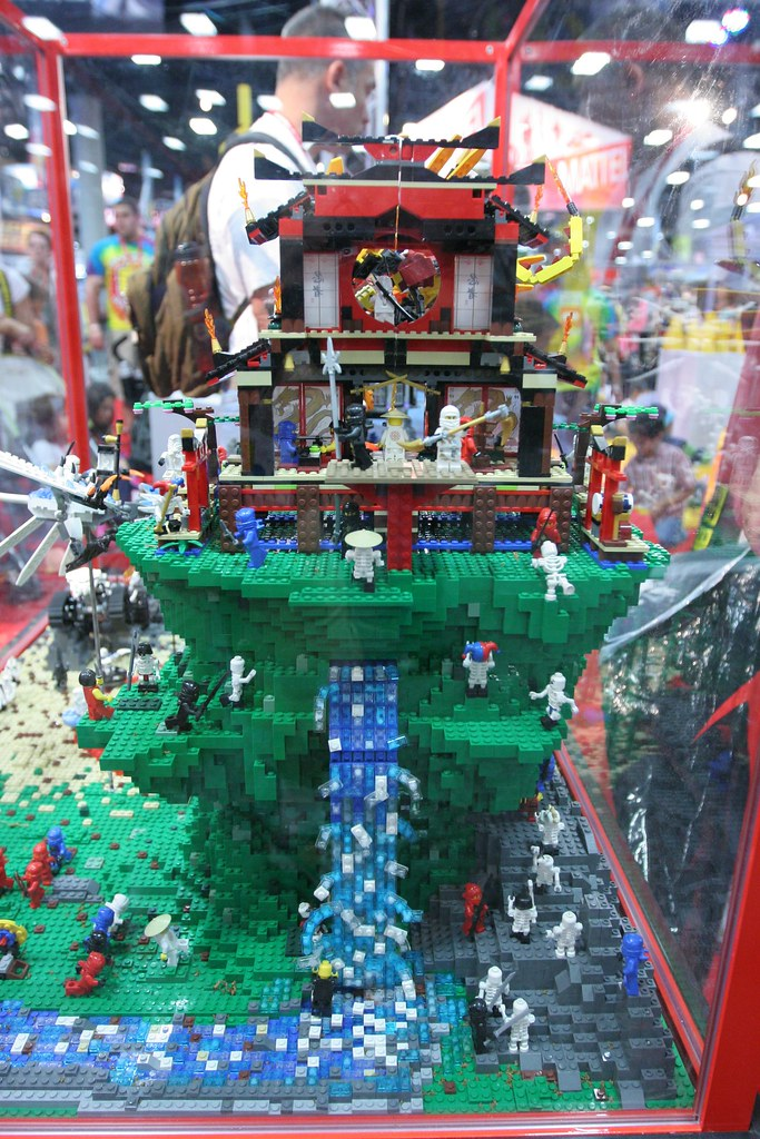Lego Ninjago Fire Temple Instructions Free Printable Chinese