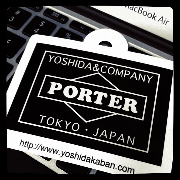 Got a Porter bag for my new Macbook Air.