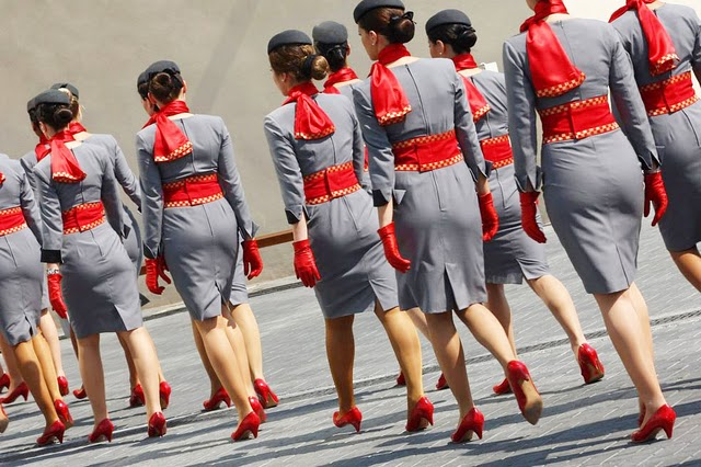 Etihad Airways flight attendants back | Flickr - Photo Sharing!
