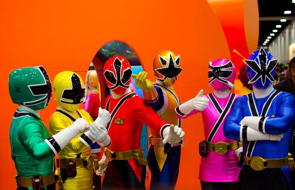 Power Rangers Samurai Car Games