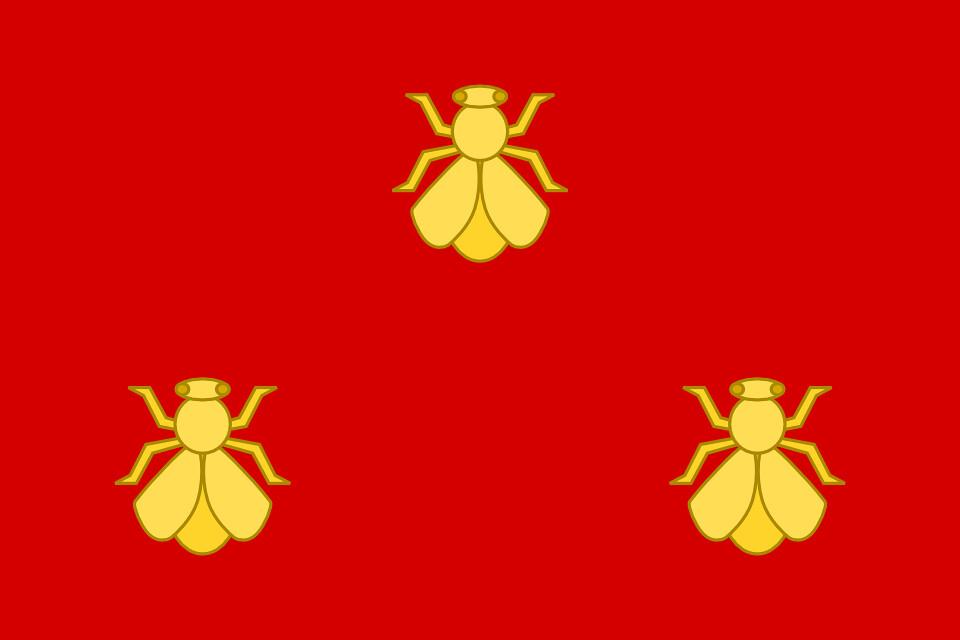 Modern Banner of the Frankish Merovingian Empire ...