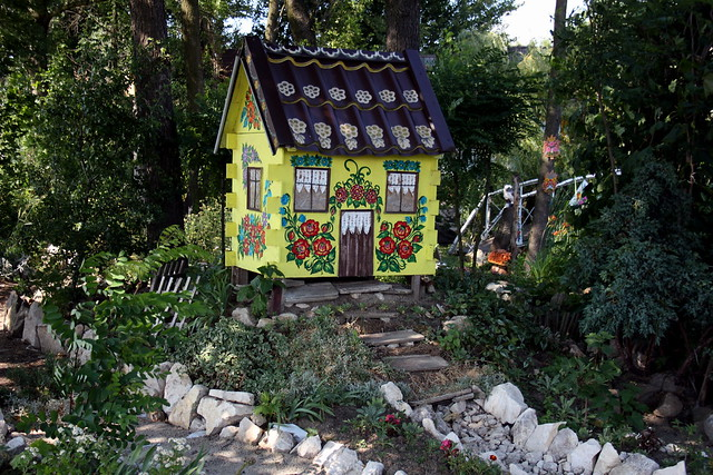 Toy House, Zalipie, Poland