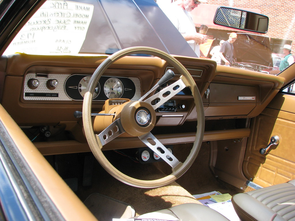 1972 Amc Gremlin X Interior Geognerd Flickr