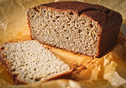 Really Good Banana Bread, gluten-free | by Kim | Affairs of Living