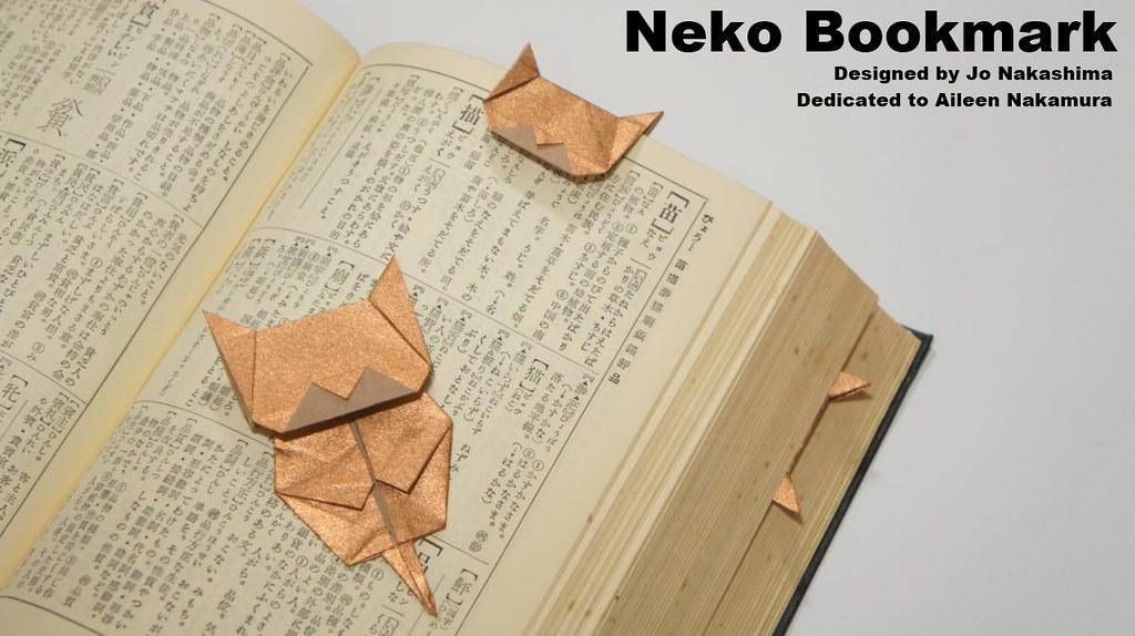 Neko Bookmark Neko Cat Bookmark Designed By Jo Nakashima Flickr