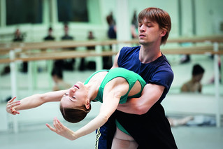 Rupert Pennefather and Marianela Nuñez in rehearsal for Asphodel Meadows © Johan Persson/ROH 2011 | by Royal Opera House Covent Garden