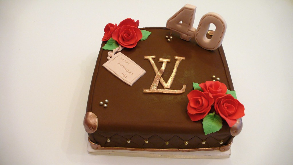 Lv Birthday Cake Louis Vuitton Cake This Time A Smaller 1 Flickr