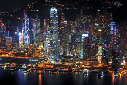 Hong Kong from above | by b80399