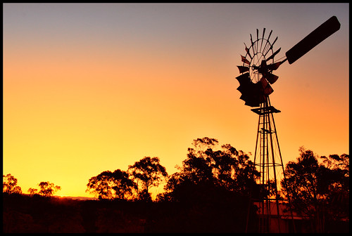 Windmill @ Sunset (Explored) | by kc_y0 (Away for a while)