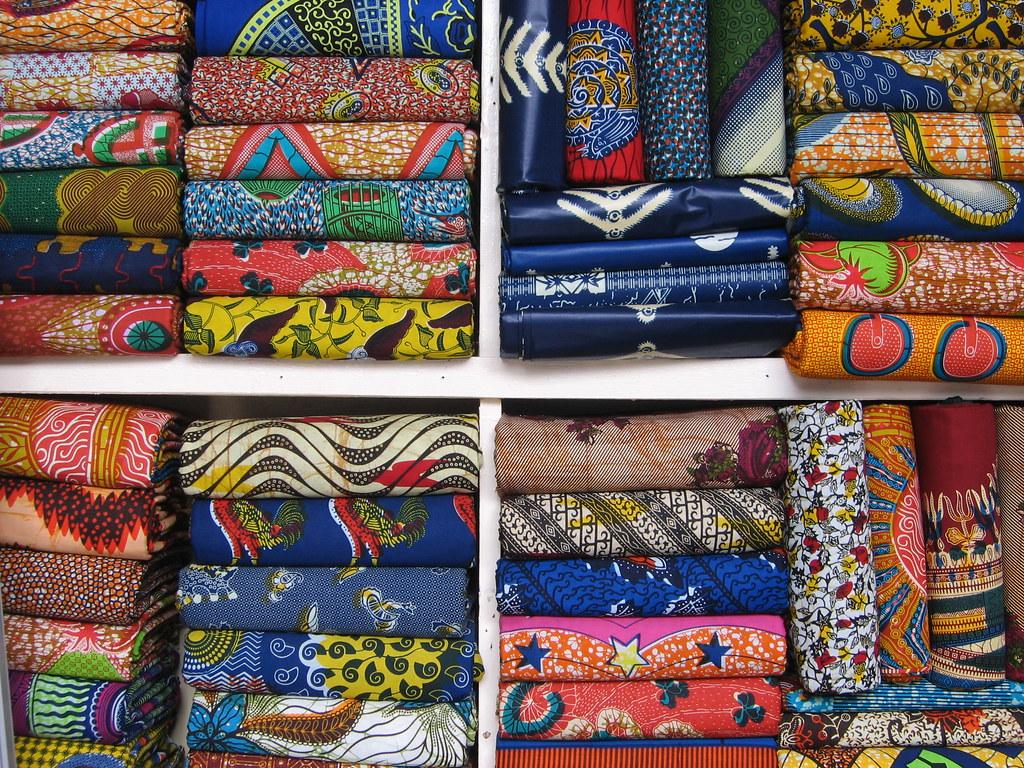 Kumasi Wax Print Fabric O3 Thegaucho Flickr