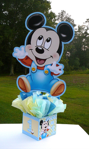 24 inch baby mickey mouse decorations handmade supplies de for Baby mickey decoration ideas