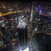 Shanghai Arial Night View