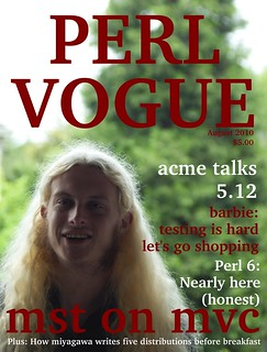 Perl Vogue Cover | by Dave Cross