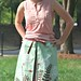 Fabric Of the Week winner: One-Yard Skirt Pattern by verycherry