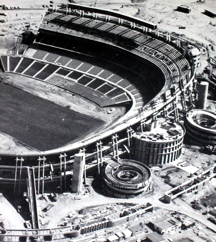 San Diego Chargers Football Field: The San Diego Stadium April 1967