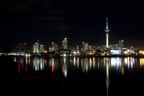 Auckland City at night {Explored} | by Photos_by_Angela