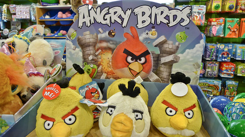 Angry Birds Stuffed Animals | by camknows