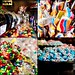 292/365: Colourful Collage of the Candy Kid, Kensington (Calgary)