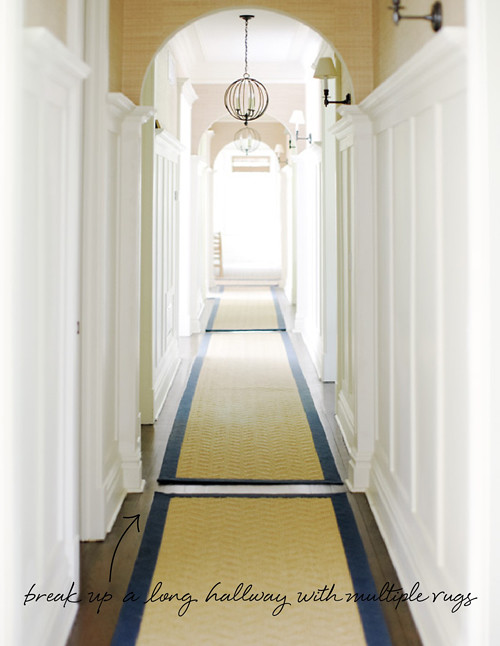 In The Details Long Hallway Multiple Rugs Coco Kelley Flickr