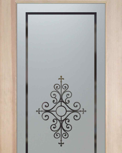 Glass Pantry Door With Frosted Glass Maya Design Flickr